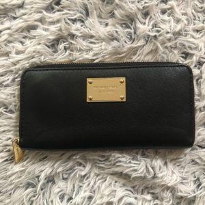 Michael Kors Zip Around Leather Wallet